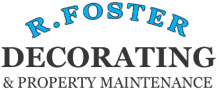 R Foster Decorating & Property Maintenance Sticky Logo